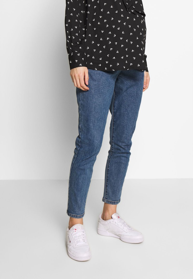 Cotton On - MATERNITY GRAZER - Jeans Tapered Fit - berkley blue
