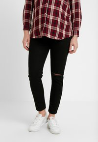 Cotton On - MATERNITY GRAZER - Jeans Tapered Fit - black - 0