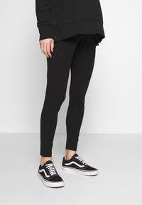 Cotton On - MATERNITY PONTE PANT - Legging - black - 0