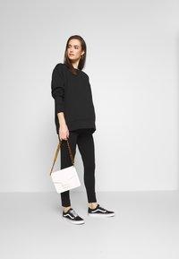 Cotton On - MATERNITY PONTE PANT - Legging - black - 1