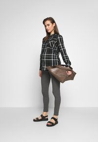 Cotton On - MATERNITY  - Leggings - Trousers - charcoal marle - 1