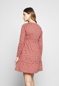 Cotton On - BABYDOLL MINI DRESS - Jersey dress - aidan faded rose - 2