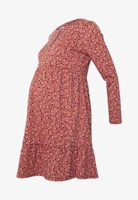 Cotton On - BABYDOLL MINI DRESS - Jersey dress - aidan faded rose - 5