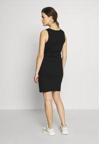Cotton On - MATERNITY HIGH NECK MIDI DRESS - Jersey dress - black - 2
