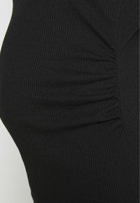 Cotton On - MATERNITY HIGH NECK MIDI DRESS - Jersey dress - black - 5