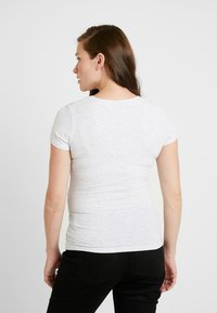 Cotton On - MATERNITY  FRONT SHORT SLEEVE - Jednoduché triko - grey marle - 2