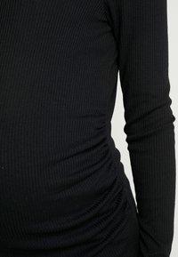 Cotton On - HENLEY SLEEVE - Bluzka z długim rękawem - black - 5