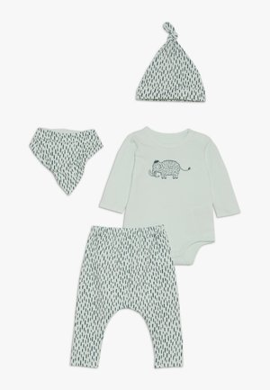 GIFT BABY MOMOUTH SET - Foulard - mint