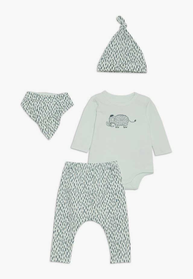 GIFT BABY MOMOUTH SET - Šátek - mint
