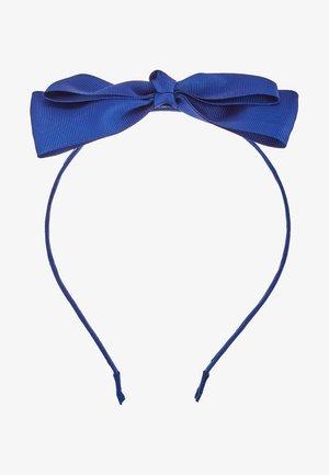BIG BOW HEADBAND - Hair styling accessory - peacoat