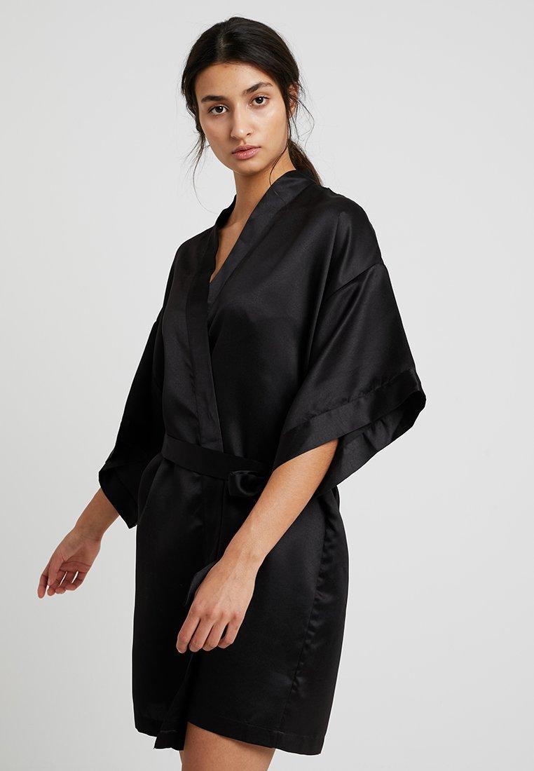 Cotton On Body - KIMONO GOWN - Peignoir - black
