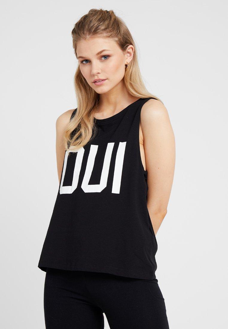Cotton On Body - BOXY TANK - Hemd - black