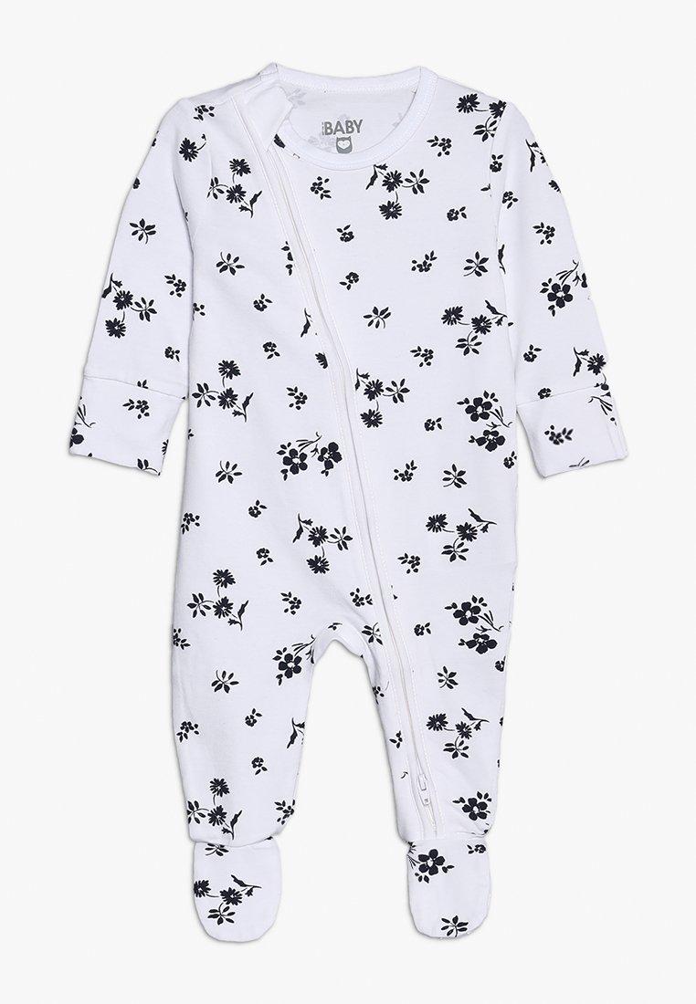 Cotton On - MINI ZIP THROUGH ROMPER BABY - Pijama - white