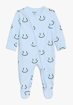MINI ZIP THROUGH ROMPER BABY - Pyjama - arctic blue