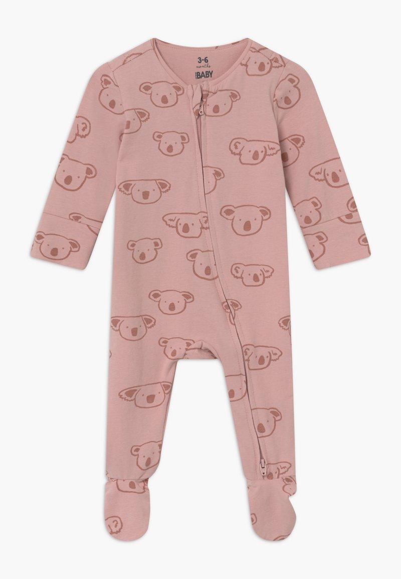 Cotton On - THE LONG SLEEVE ZIP - Pyžamo - pink