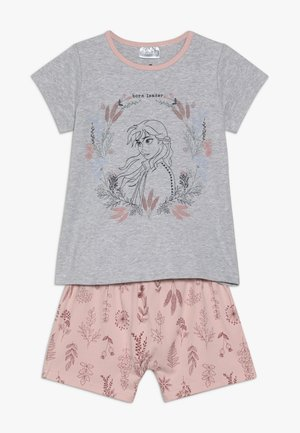 DISNEY FROZEN HARPA SS PJ SET - Pyjama set - grey/light pink