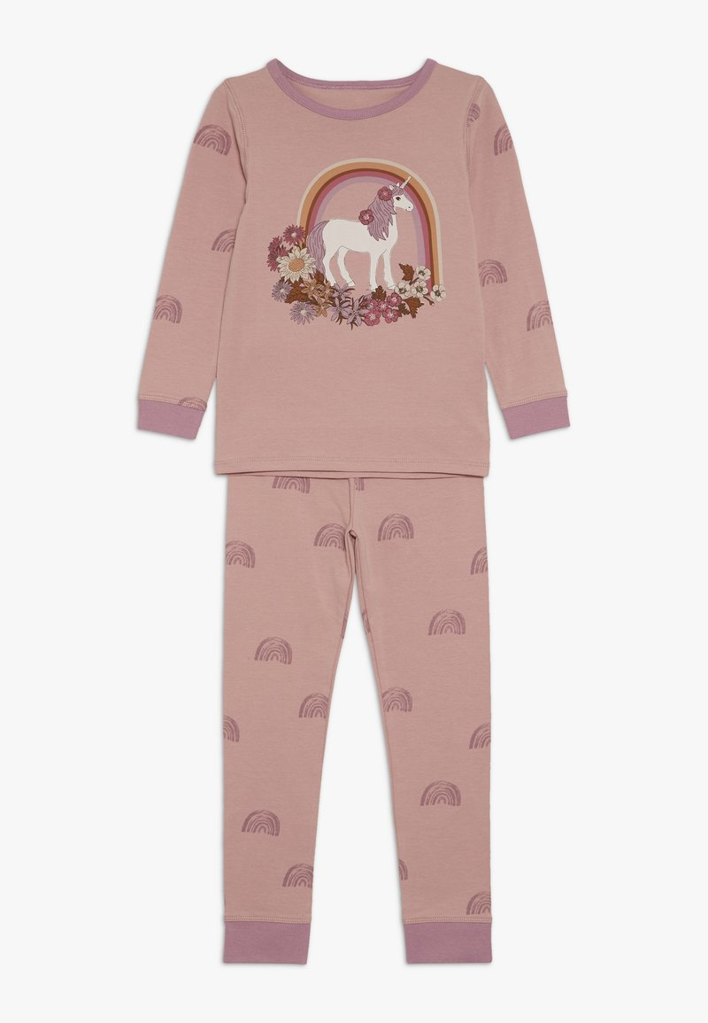 Cotton On - KIDS RUBY LONG SLEEVE UNICORN PYJAMA - Pyjama - rose