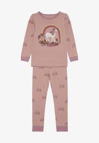 Cotton On - KIDS RUBY LONG SLEEVE UNICORN PYJAMA - Pyjama - rose - 3