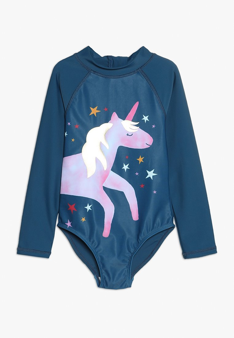 Cotton On - KIDS LYDIA ONE PIECE - Badedragter - galaxy blue