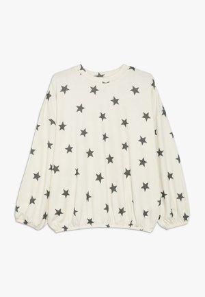 SUPER BELL SLEEVE CREW - Sweatshirt - dark vanilla/shadow