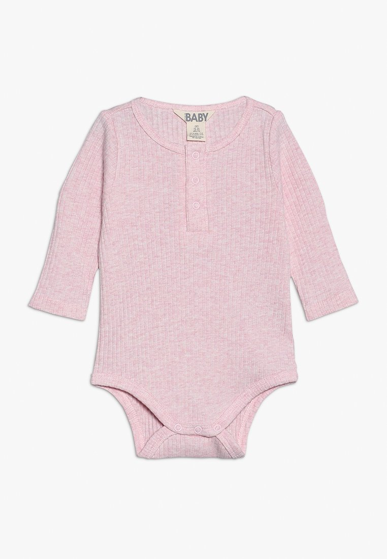 Cotton On - BUTTON BUBBYSUIT BABY - Body - pink marle