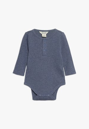 BUTTON BUBBYSUIT BABY - Body - indian ink marle