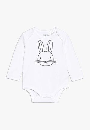 MINI LONG SLEEVE BUBBY BABY - Body - white