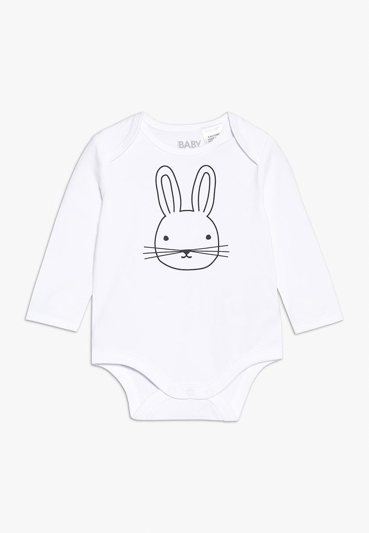 Cotton On - MINI LONG SLEEVE BUBBY BABY - Body - white