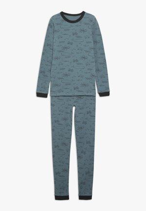 HARRISON LONG SLEEVE BOYS - Pyžamová sada - turquoise