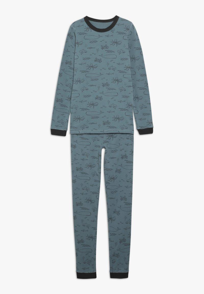 Cotton On - HARRISON LONG SLEEVE BOYS - Pigiama - turquoise