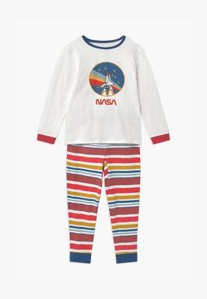 NASA ORLANDO LONG SLEEVE - Pyjama - vanilla