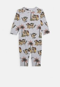 Cotton On - WARNER BROS WHERE THE WILD THINGS ARE LONG SLEEVE SNAP ROMPER - Jumpsuit - cloud marle - 0