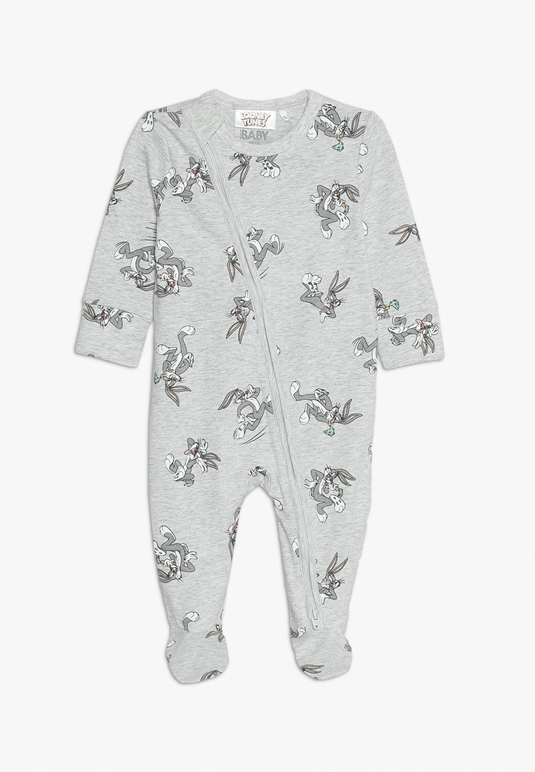 Cotton On - LICENCE ZIP THROUGH ROMPER BABY - Pyjama - cloud marle