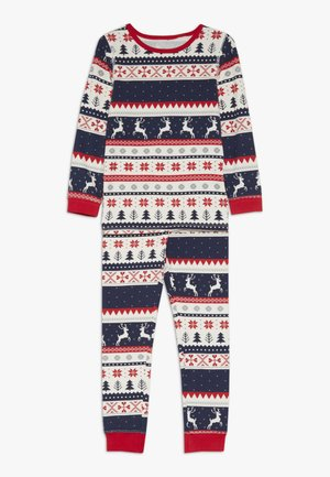 CHRISTMAS BILLIE UNISEX - Pyjama set - black/red