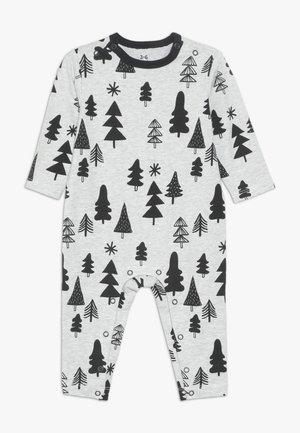 THE LONG SLEEVE SNAP ROMPER - Pijama - cloud marle