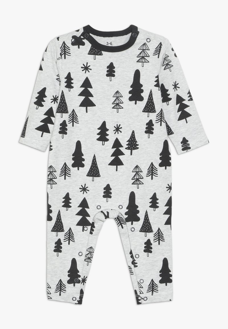 Cotton On - THE LONG SLEEVE SNAP ROMPER - Pyjama - cloud marle
