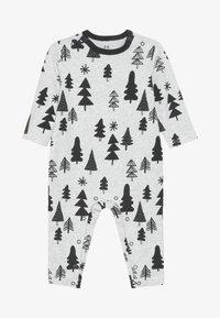 Cotton On - THE LONG SLEEVE SNAP ROMPER - Pyjama - cloud marle - 2