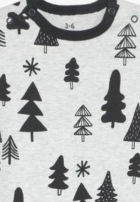 Cotton On - THE LONG SLEEVE SNAP ROMPER - Pyjama - cloud marle - 3