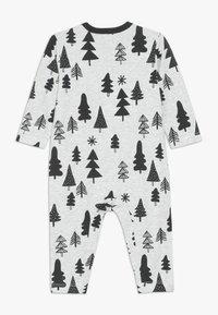Cotton On - THE LONG SLEEVE SNAP ROMPER - Pyjama - cloud marle - 1