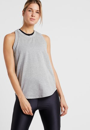 WORKOUT TANK - Top - mid grey marl