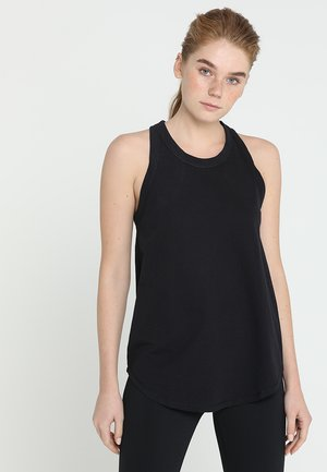 WORKOUT TANK - Topper - black