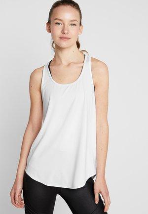 TRAINING TANK - Treningsskjorter - white