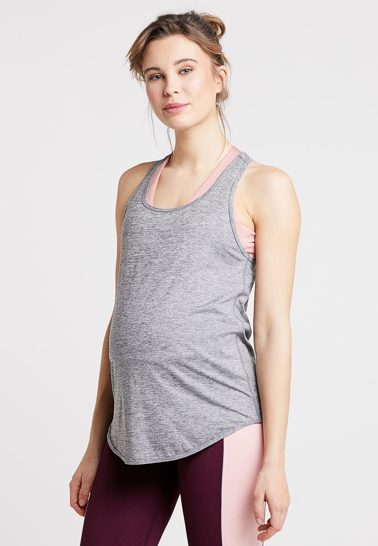 Cotton On Body - TRAINING TANK - T-shirt sportiva - salt pepper