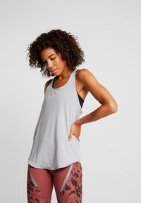 Cotton On Body - TRAINING TANK - Toppe - charcoal marle/black - 0