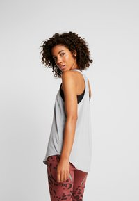 Cotton On Body - TRAINING TANK - Toppe - charcoal marle/black - 2