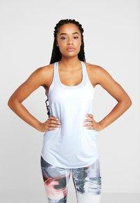 Cotton On Body - TRAINING TANK - Koszulka sportowa - blue jewel marle - 0