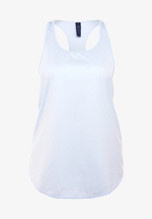 TRAINING TANK - Sportshirt - blue jewel marle