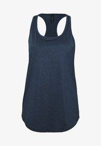 Cotton On Body - TRAINING TANK - T-shirt de sport - dark indigo marle - 4