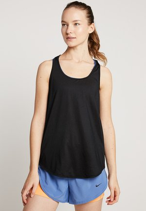 TRAINING TANK - T-shirt sportiva - black