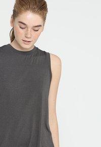 Cotton On Body - SPLIT BACK TANK - Débardeur - charcoal marle - 3